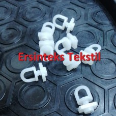 Пластиковые Крючки для штор №04