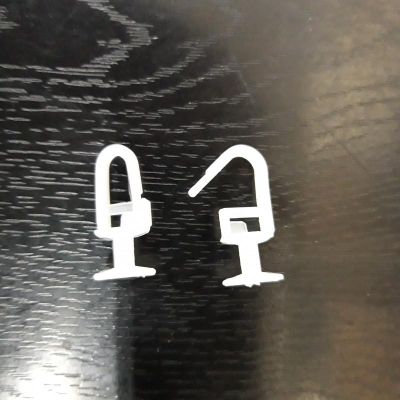Пластиковые Крючки для штор №01